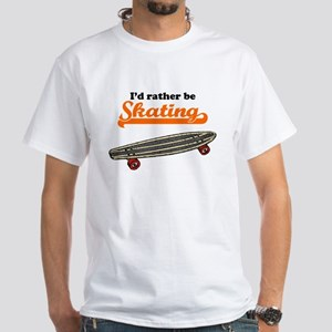 Id Rather Be Skating T-Shirt