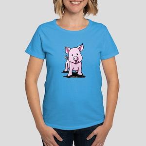 Chatty Pig Women's Dark T-Shirt