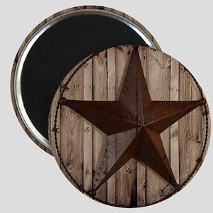 barnwood texas star Magnet