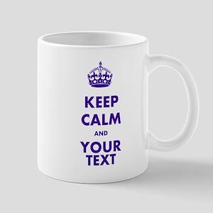 Personalized Keep Calm Mug