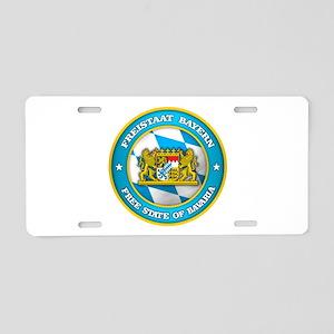 Bavaria Medallion Aluminum License Plate