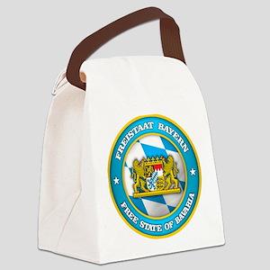 Bavaria Medallion Canvas Lunch Bag