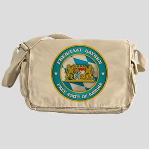 Bavaria Medallion Messenger Bag