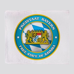 Bavaria Medallion Throw Blanket