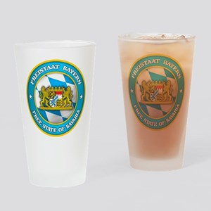 Bavaria Medallion Drinking Glass