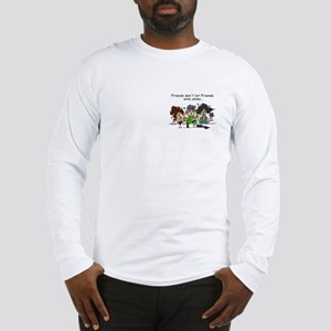 Friends and Wine Long Sleeve T-Shirt
