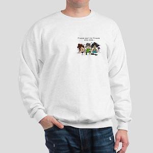 Friends and Wine Sweatshirt