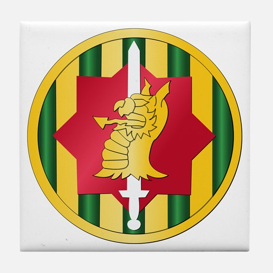 SSI - 89th Military Police Bde Tile Coaster