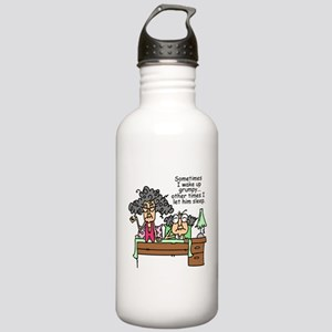 Let Grumpy Sleep Stainless Water Bottle 1.0L