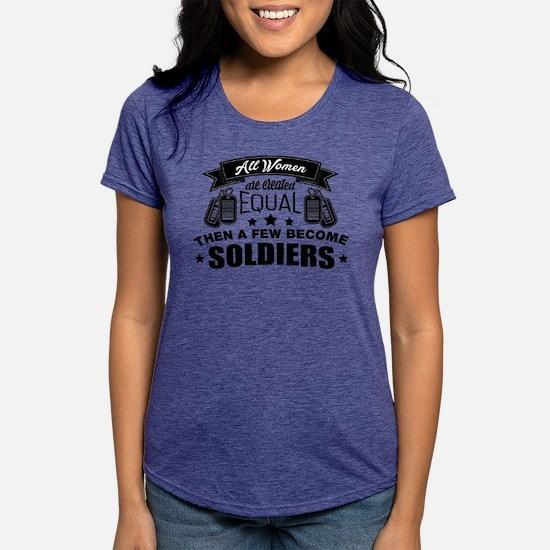 Unique Marine girl Womens Tri-blend T-Shirt