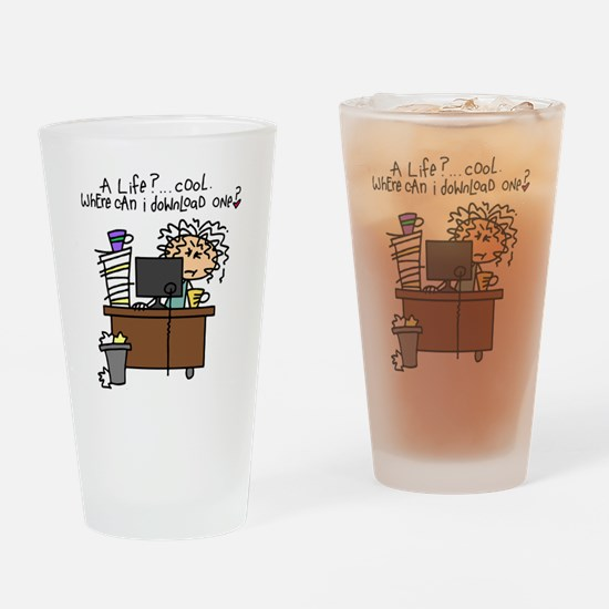 Download Life Humor Drinking Glass