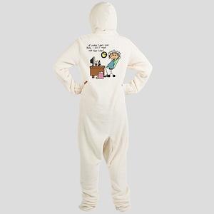 Office Humor Footie Pajamas - CafePress 2f0c0cb73