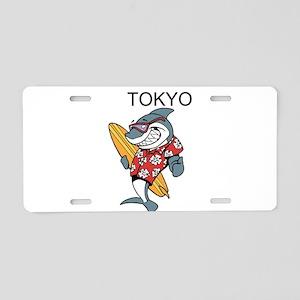 Tokyo Aluminum License Plate