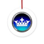 Logo Sticker Small Ornament (Round)