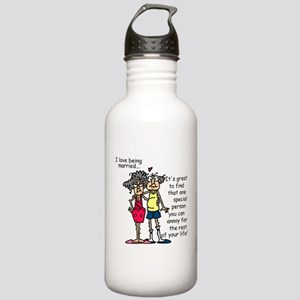 Marriage Humor Stainless Water Bottle 1.0L