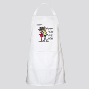 Marriage Humor Apron