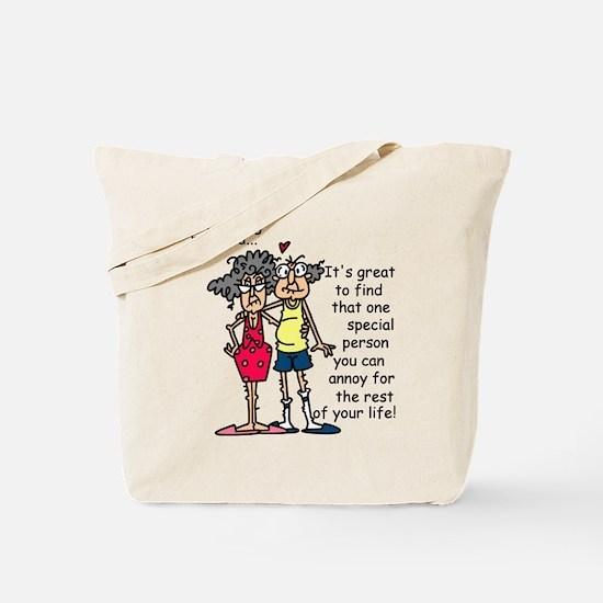Marriage Humor Tote Bag