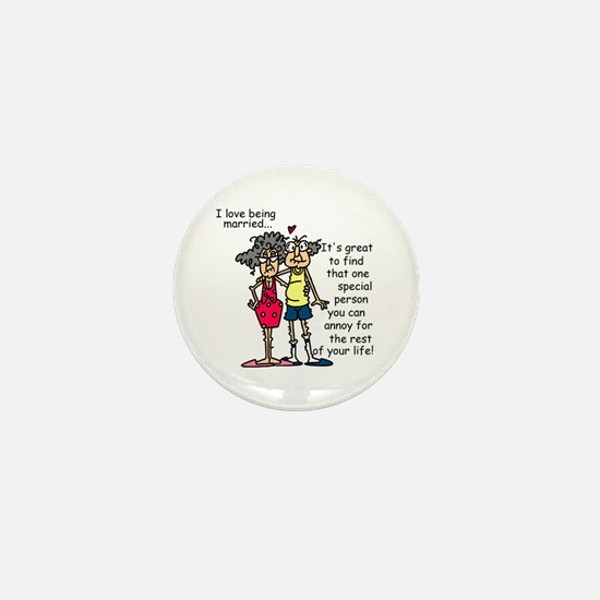 Marriage Humor Mini Button