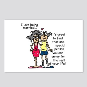 Marriage Humor Postcards (Package of 8)