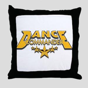 Dance Commander Throw Pillow