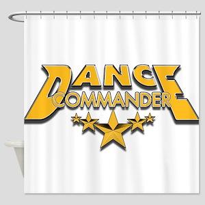 Dance Commander Shower Curtain