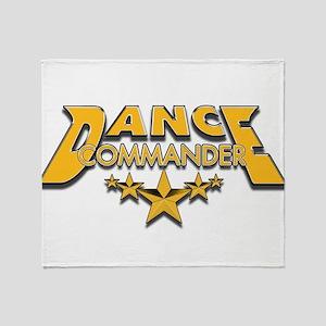 Dance Commander Throw Blanket