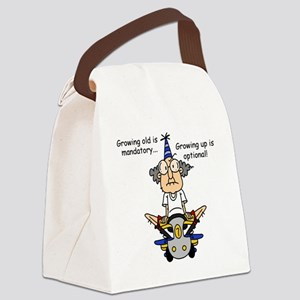 Getting Older Humor Canvas Lunch Bag