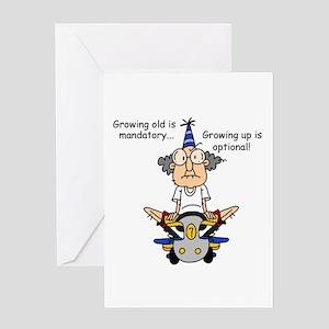 Getting Older Humor Greeting Card