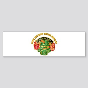 DUI - 89th Military Police Bde with Text Sticker (