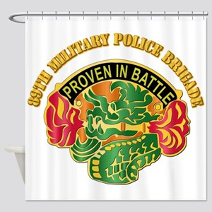 DUI - 89th Military Police Bde with Text Shower Cu