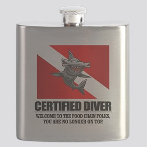 Certified Diver (Food Chain) Flask
