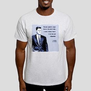 JFK Ash Grey T-Shirt