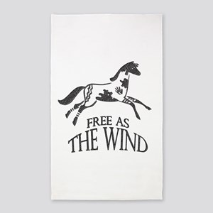 Free as the Wind 3'x5' Area Rug