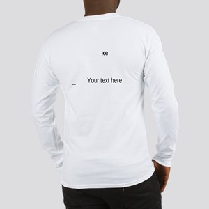IOB Cont. Fill It In Long Sleeve T-Shirt