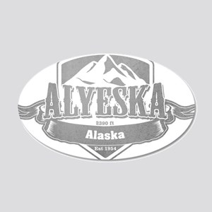 Alyeska Alaska Ski Resort 5 Wall Sticker