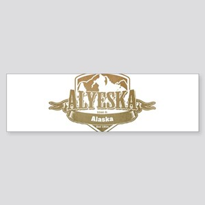 Alyeska Alaska Ski Resort 4 Bumper Sticker