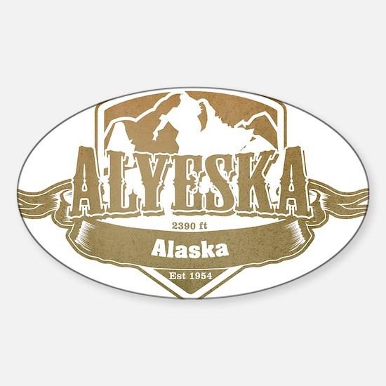 Alyeska Alaska Ski Resort 4 Decal