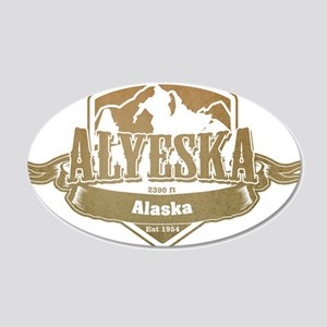 Alyeska Alaska Ski Resort 4 Wall Sticker