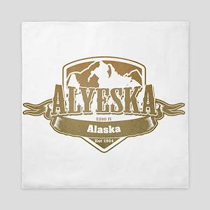Alyeska Alaska Ski Resort 4 Queen Duvet