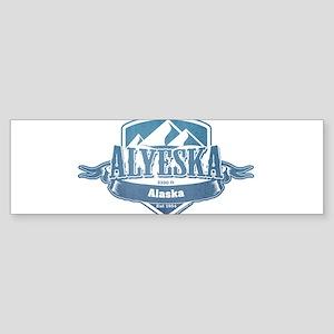 Alyeska Alaska Ski Resort 1 Bumper Sticker