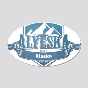 Alyeska Alaska Ski Resort 1 Wall Sticker