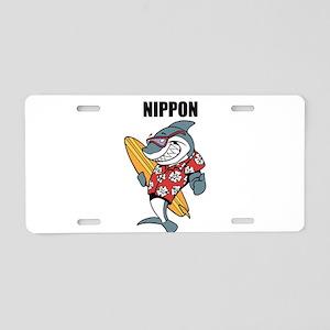 Nippon Aluminum License Plate