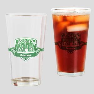 Aspen Colorado Ski Resort 3 Drinking Glass