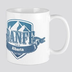 Banff Alberta Ski Resort 1 Mugs