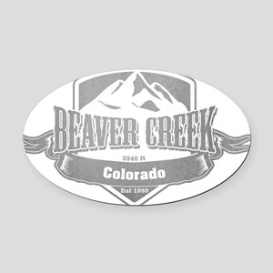 Beaver Creek Colorado Ski Resort 5 Oval Car Magnet