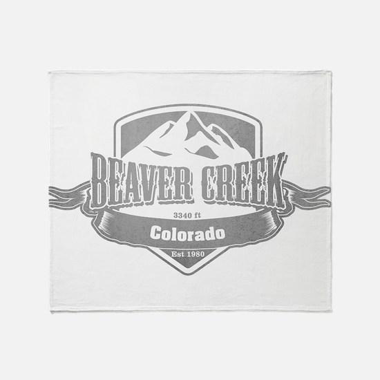 Beaver Creek Colorado Ski Resort 5 Throw Blanket