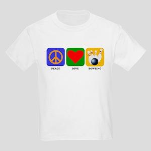 Peace Love Bowling T-Shirt