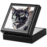 Tortie cat Keepsake Box