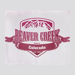 Beaver Creek Colorado Ski Resort 2 Throw Blanket
