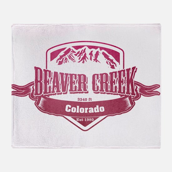 Beaver Creek Colorado Ski Resort 2 Throw Blanket